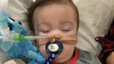 Alfie Evans: European court rejects plea from parents
