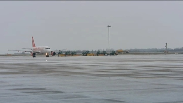 It was -10 at Stansted airport overnight