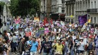 Teachers and civil servants protest over pension reforms in London on June 30th 2011