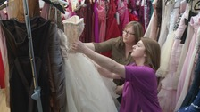 Barnsley abuse survivor's prom dress appeal