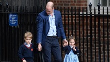 Duchess of Cambridge 'doing well' after giving birth to baby boy