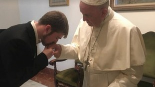 Alfie's father Tom previously met with the Pope to appeal for help