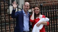 It's a boy! Duchess of Cambridge gives birth on St George's Day