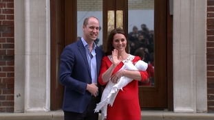 Royal baby born: Duchess of Cambridge gives birth to son
