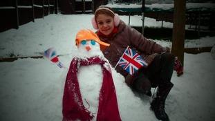 Snowman and Sarah