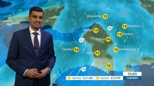 A cloudy and damp day in the West