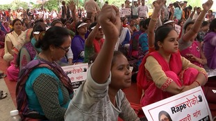 Women are demanding action after a surge in rape cases.