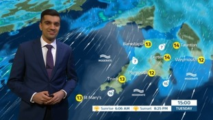 A miserable, damp day ahead in the South West