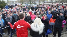 Rally held for victim of Bangor attack