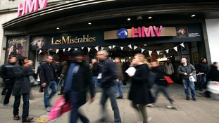 Flagship HMV store on Oxford Street