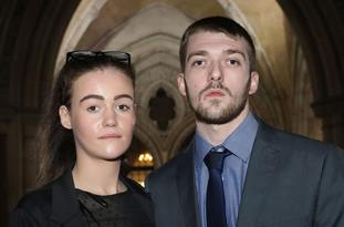 Alfie's parents Tom Evans and Kate James have been fighting for the right to continue life support treatment (Philip Toscano/PA)