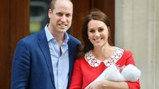 William and Kate settle into home life as world waits on baby name