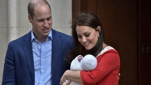 The Duke of Cambridge was also presented with one when he was born.