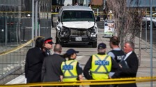 Police quiz suspect over Toronto van attack with motive unclear