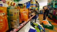 Record numbers relying on region's foodbanks