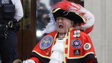 Town crier who rocked up to royal birth becomes shouty meme