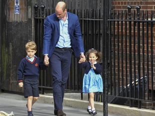 Prince George and Princess Charlotte are adapting to a new baby brother.