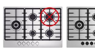 Ikea urged customers to stop using the rapid burner in the upper right corner of any version of the Eldslaga hob.