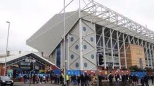 Leeds United home ground at Elland Road