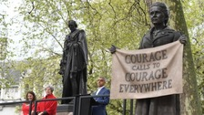 Millicent Fawcett first woman to have Westminster statue