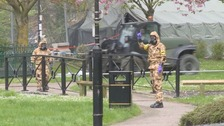 Military move in for Salisbury decontamination