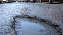 Wintry weather leads to spike in potholes in Luton