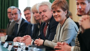 Carwyn Jones, Nicola Sturgeon