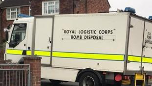Bomb disposal unit