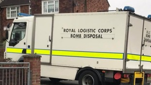 Bomb disposal unit