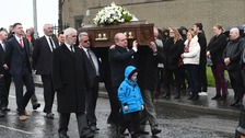 Funeral for woman knocked down by stolen car