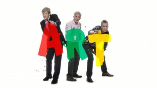 Nigel Havers, Denis Lawson and Stephen Tompkinson are on tour with the stage comedy 'Art'