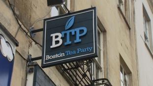 Boston Tea Party Sign