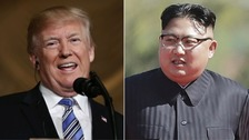 US President Donald Trump praised Kim Jong Un as very open.