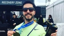 Runners unite under #LetsRunForMatt to 'finish' London Marathon