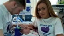The hospital caring for Alfie Evans say that the end of life care plan is in the toddler's 'best interests'