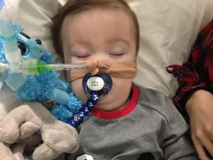 Alfie, 23-months-old, has been at the centre of a life-support treatment battle