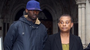 Stephen Lawrence's mother Doreen and brother Stuart seen in 2011