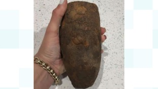 Woman took home 'bomb' thinking it was a potato