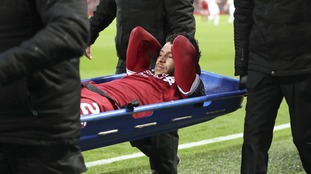 Liverpool midfielder Oxlade-Chamberlain is feared to have suffered a season-ending injury and could miss the World Cup
