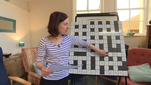 Sophie Schnepp runs the daily crossword at Age UK Exeter.