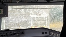 Gatwick-bound flight turns back as huge crack spans cockpit window