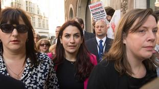 Labour MPs march in support of Jewish colleague ahead of anti-Semitism hearing