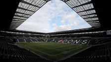 MK Dons are on the brink of relegation.