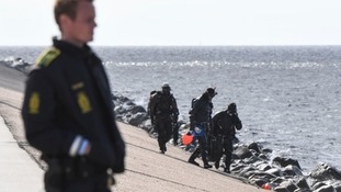 Divers uncovered body parts that had been weighed down in the sea