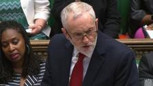 Corbyn calls for resignation over Windrush during fiery PMQs