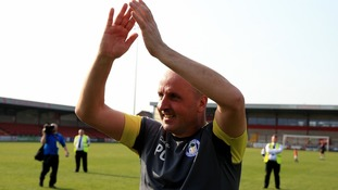 Wigan Athletic boss Paul Cook is the current favourite with the bookies.