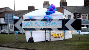 Save Alfie Evans banner