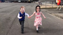 'When Harry met Meghan' - Watch Flakefleet Primary School's tall tale of a royal romance