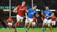 George North is returning to Wales.