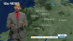 West Midlands Weather: Dry with sunny spells, some showers later